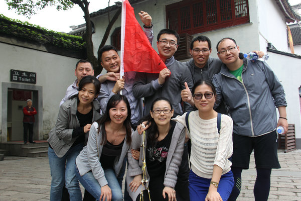 中科君芯组织2015年度拓展培训